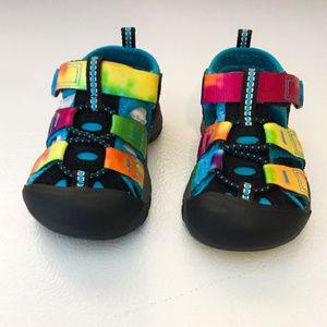 Keen Toddler Rainbow Tie Dye Newport H2